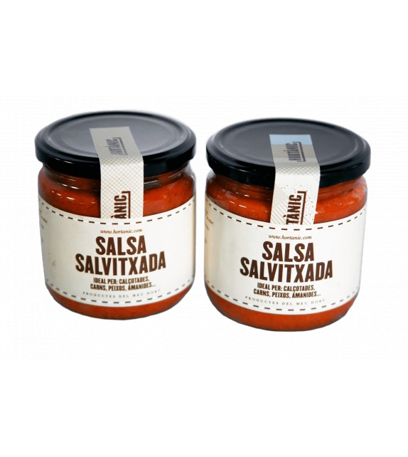 2 ECO Salvitxada sauce jars